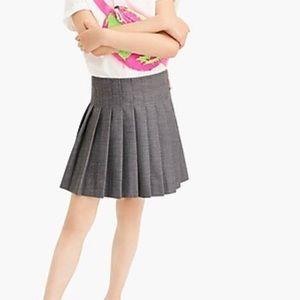 J. Crew CrewCuts Pleated Mini Skirt Girls 14